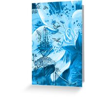 Lily Garden II Greeting Card