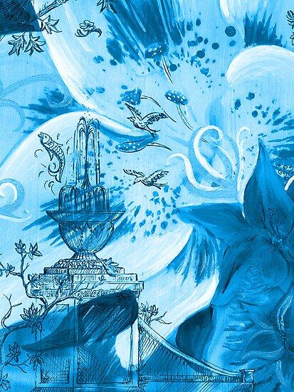 Lily Garden II by SBCStudio