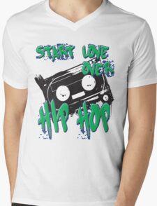 Start Love Over Mens V-Neck T-Shirt