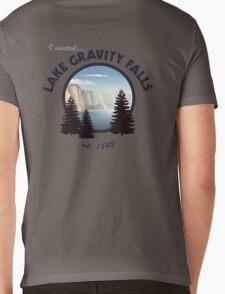 Lake Gravity Falls Mens V-Neck T-Shirt