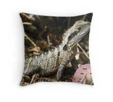 Humble water dragon  Throw Pillow