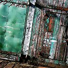 Green door by shaz4