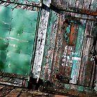 Green door by shaz4