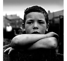 Miner's Boy Photographic Print