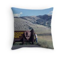 Stop !!! Thieves !!! Throw Pillow