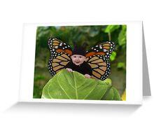 Peeking Greeting Card