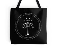 All that is gold does not glitter Tote Bag