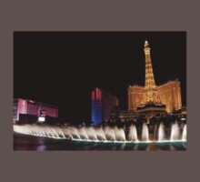 Vibrant Las Vegas - Bellagio's Fountains, Paris, Bally's and Flamingo Kids Clothes