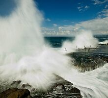 Wild Seas at the Bogey Hole by Mark Snelson