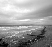 Winter Beach,UK by seza