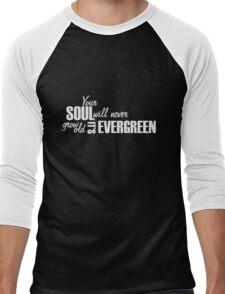 It's Evergreen- Thinking Out Loud Men's Baseball ¾ T-Shirt
