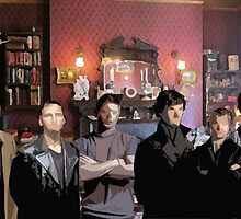 SuperWhoLock Team by Diddlys-Shop