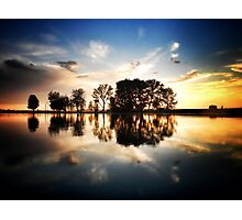 Water, Trees, & Sky Photographic Print