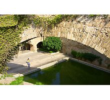Palma Cathedral Courtyard Photographic Print