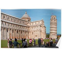 Duomo and Leaning Tower, Pisa Poster