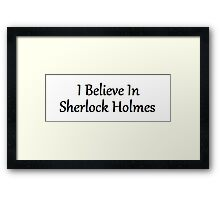 Sherlock Holmes | Sherlock Framed Print