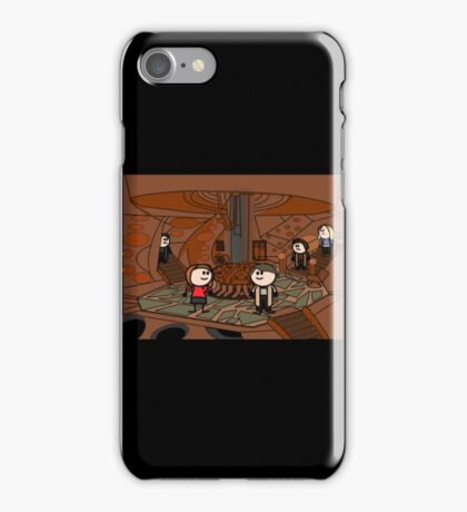 Doctor Who (inside the tardis) iPhone Case/Skin
