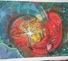 ayahuasca 4 way vision by AshTree