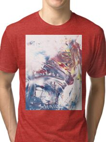 Wolf At The Window Tri-blend T-Shirt