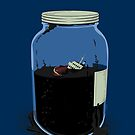 oil container (navy) by mtths