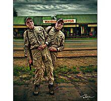 Uganda: Equator Wobble Photographic Print