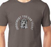 Judgement you can trust Unisex T-Shirt