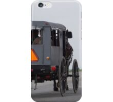 amish buggy iPhone Case/Skin