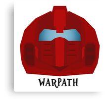 Warpath Canvas Print