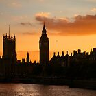Ben &amp; Thames Sunset by Scott Harding