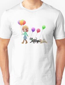 Doggies and Balloons [Commission] T-Shirt