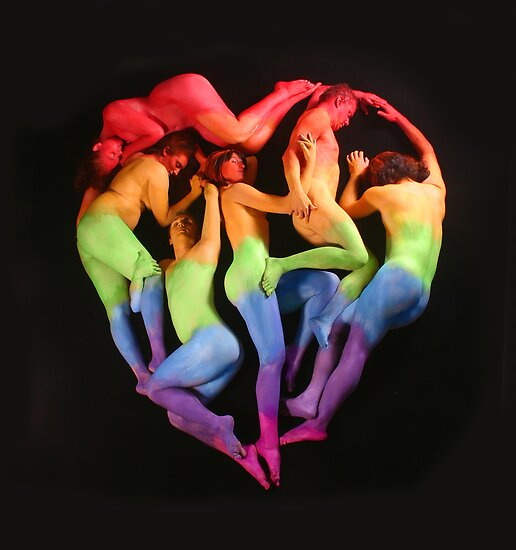 Human Heart by Kimberly Lennox