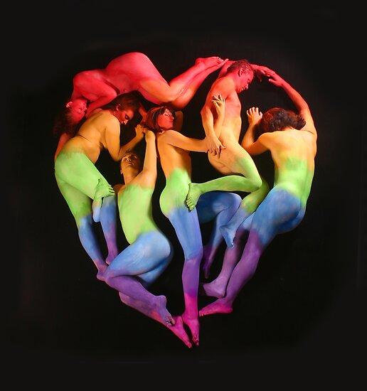 Human Heart by Kimberly Lennox