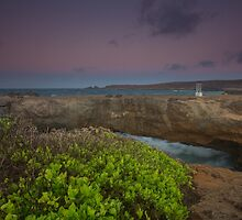 Natural Bridge Aruba by Eti Reid