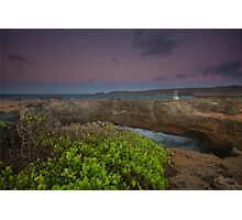 Natural Bridge Aruba Photographic Print