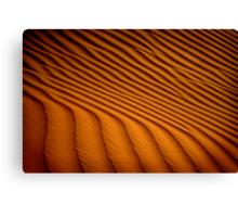 Dune Pattern Canvas Print