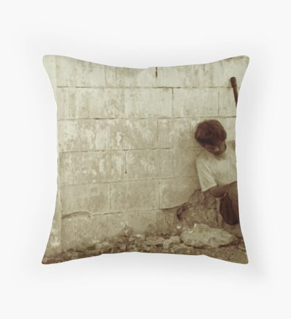 Street Nap Throw Pillow
