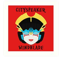Windblade Art Print