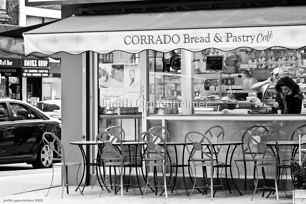 Cafe by Judith Oppenheimer