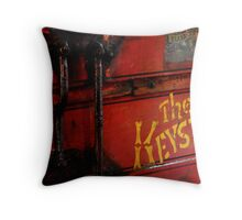 Tired Harvester Throw Pillow