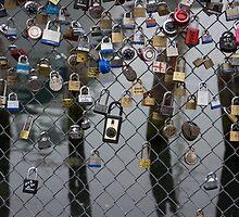 padlocks by Anne Scantlebury