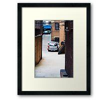 Drive Thru Framed Print