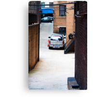 Drive Thru Canvas Print