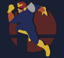 Smash Bros: Captain Falcon by megaoctipoosh