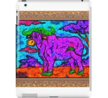 van goff water buffalo iPad Case/Skin