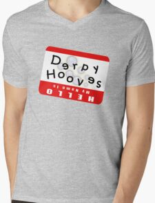 Hello My Name is Derpy Hooves Mens V-Neck T-Shirt