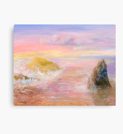 Some Golden Daybreak Canvas Print