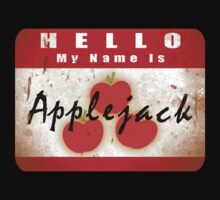 Hello My Name is Applejack Kids Clothes