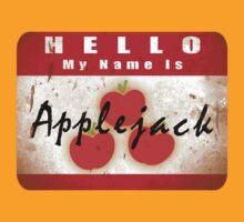 Hello My Name is Applejack by ThatOneJakeGuy