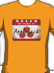 Hello My Name is Applejack T-Shirt