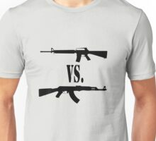 M16 vs. AK47 Unisex T-Shirt